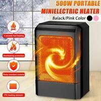 Tragbare 500 Watt Mini Keramik Heizung Kühler Elektrische Home Heißlüfter S0I6