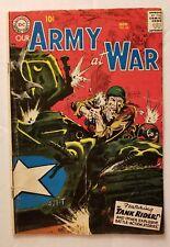 OUR ARMY AT WAR #64 (DC COMICS 1957) CLASSIC GOLDEN AGE DC WAR COMICS!