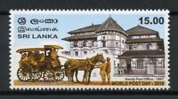 Sri Lanka 2018 MNH World Post Day Kandy Post Office 1v Set Horses Stamps