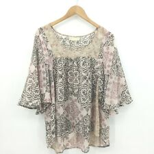 Staring At Stars BOHO Blouse Size Medium