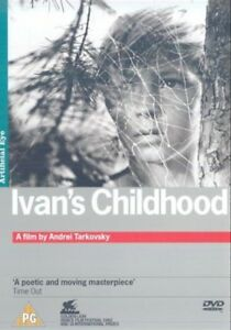 Ivan's Childhood ANDREI TARKOVSKY ARTIFICIAL EYE NEW SEALED (UK RELEASE) DVD