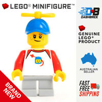 Genuine LEGO® Minifigure™ - Spinning Cap Boy (Child) (City/Town) - BRAND NEW