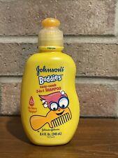 Johnson's Buddies No More Tangles Easy-Comb SHAMPOO Discontinued 8.4 FL OZ NOS