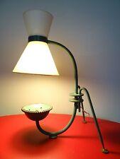 ancienne lampe de bureau LUNEL desk light sconce wall light design disderot F633