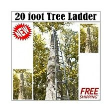 20' Hunting Tree Ladder easy get up to Tree stand F/ Deer,Turkey Hunters
