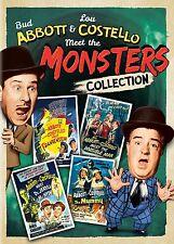 Abbott & Costello Meet the Monsters Collection DVD 4 Film Set Frankenstein Mummy