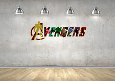 The Avengers Marvel Wall Decals Vinyl Sticker For Room Home Bedroom Cars Laptop
