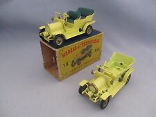 AF673 MATCHBOX 1/43 LOT DE 2 Y-16 SPYKER 1904 POUR RESTAURATION