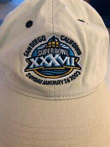 Summer Olympics 2003 Super Bowl NFL Reebok Cap Hat Embroidered Football Brady
