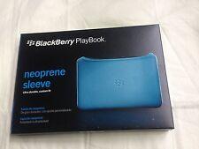 New Blue Neoprene Sleeve Case Cover For Blackberry PlayBook Tablet RIM