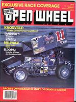 Open Wheel Magazine December 1987 Jac Haudenschild EX 021916jhe