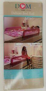DREAM ON ME Bed Rail OPEN BOX Deluxe Linen Fabric & Mesh Purple