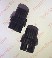 Conjunto de 2 Cepillos de Nylon Compatible con X5 H20 Vapor trapeadores