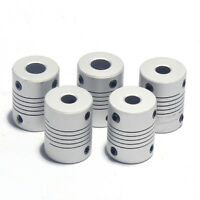 Flexible shaft coupling joint Stepper Motor Coupler Connector Various Sizes AU