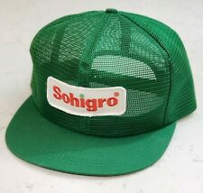 Vintage SOHIGRO Snapback Trucker Hat Full Mesh Patch Cap K Products USA