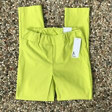 Jules and Leopold Women's Size S/P Pull On Slim Crop Pants Stretch CH23059 NWT