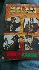 X-Clan Fire & Earth cassette single 1991 Blackwatch Movement Hip Hop Rap Rare cs