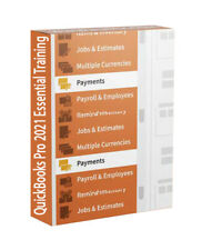 QuickBooks Pro 2021 Essential Tutorial Digital Course 78 Videos + Exercise Files