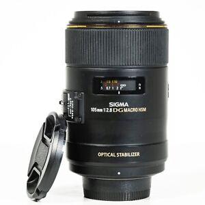 Sigma EX 105mm F/2.8 OS HSM DG Lens - Nikon F Mount lens