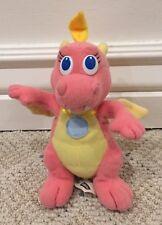 Dragon Tales Flying Cassie Pink Plush Doll Playskool 1999 Pbs Kids