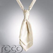 Mens Ivory Cravat, Cravats for Men, Wedding Cravats, Mens wedding Cravats