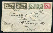Indochine - Enveloppe de Saïgon pour la France en 1947 - N 170