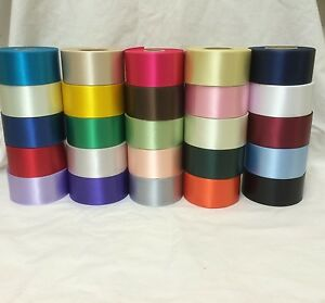 45mm Polyester Ribbon for Cake Decorating Crafts Sewing - 25 Colours
