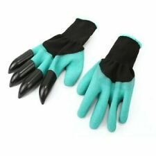 Pair Of Garden Working Gloves Puncture Resistant with 4 Claws for Digging / ABS