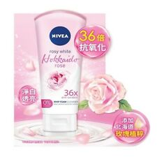 Nivea Rosy White Hokkaido Rose Whip Foam Cleanser 100ml