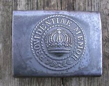 GERMAN BUCKLE-providentiae-memor ww1 original  1917