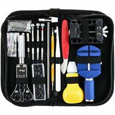 147 Pcs Watch Repair Back Case Pin Link Spring Strap Remover Opener Tool Kit Set