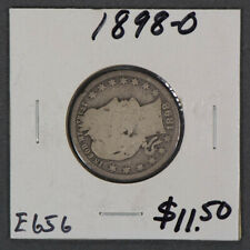 1898-O 25c BARBER QUARTER LOT#E656