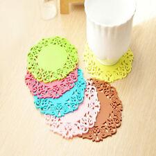 Multicolor 6PCS Coaster Mat Cushion Pad Drinks Tea Cup Mat