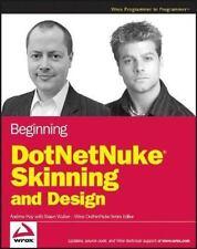 Beginning DotNetNuke Skinning and Design ~Andrew Hay ~ PB ~ Good
