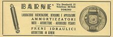 W6223 Freni idraulici per auto Barnè - Pubblicità 1959 - Advertising