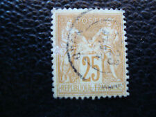 FRANCE - timbre yvert et tellier n° 92 obl (A20)stamp french