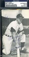 BILL FREEHAN SIGNED PSA/DNA 1965 TIGERS MCCARTHY POSTCARD AUTHENTIC AUTOGRAPH