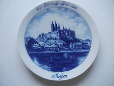 """Meissen Wall Plate """" 929 - Jahrtausendfeier 1929 Meissen """" - Rare -1. Wahl- X"""