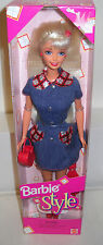 #5284 Nrfb Mattel Style Barbie Foreign Issue