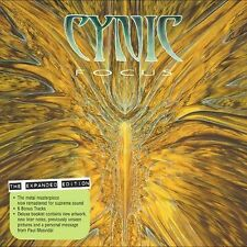 CYNIC - Focus EXPANDED EDITION CD - classic prog death metal - historic - SEALED