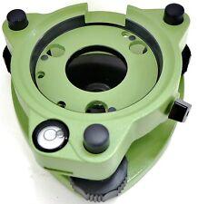AdirPro Leica Style Twist Focus Tribrach W/O Optical Plummet - Green Surveying