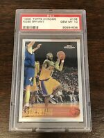 1996 Topps Chrome Kobe Bryant ROOKIE RC #138 PSA 10 GEM MINT