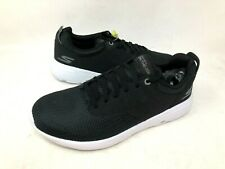 NEW! Skechers Men's GOWALK CITY 2 ENZO Shoes Blk/Wht Size:8.5 #54307 f10b a