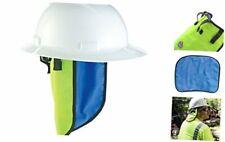 Ergodyne Chill Its 6670ct Evaporative Cooling Hard Hat Neck Shadelime