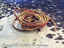 "Springfield Leather Latigo Indian Alum Tan Boot Lace 1/8"" x 108"" #123-503104"