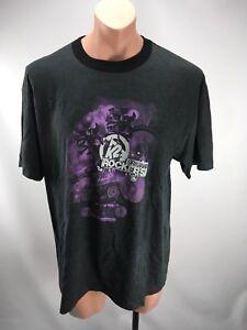 2010-2011 k2 Original Rockers Tour Concert Graphic T-Shirt Ringer Gray Sz XL