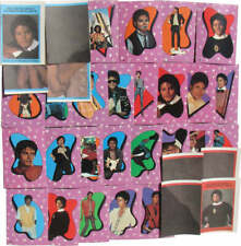 Michael Jackson Lot Cartes Cards TOPPS Mauve Stickers 1st series Collection 1984