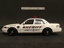 Essex County Sheriff's Office N.J Replica 1:24 Scale Ford Crown Victoria