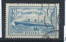 """France N°300b Obl (FU) 1935/36 - Paquebot """"Normandie"""""""