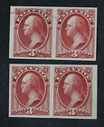 CKStamps: US Stamps Collection Scott#O12P3 O14P3 Unused NH NG Proof